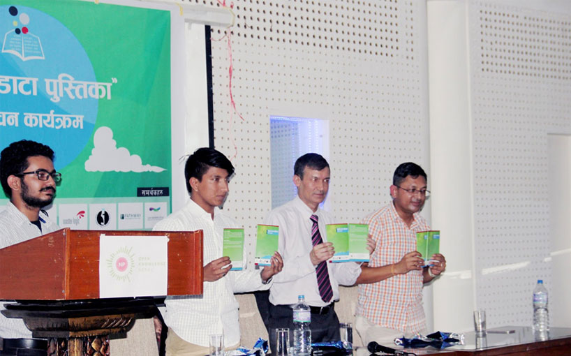 First Version of Nepali Open Data Handbook launched by Open Knowledge Nepal
