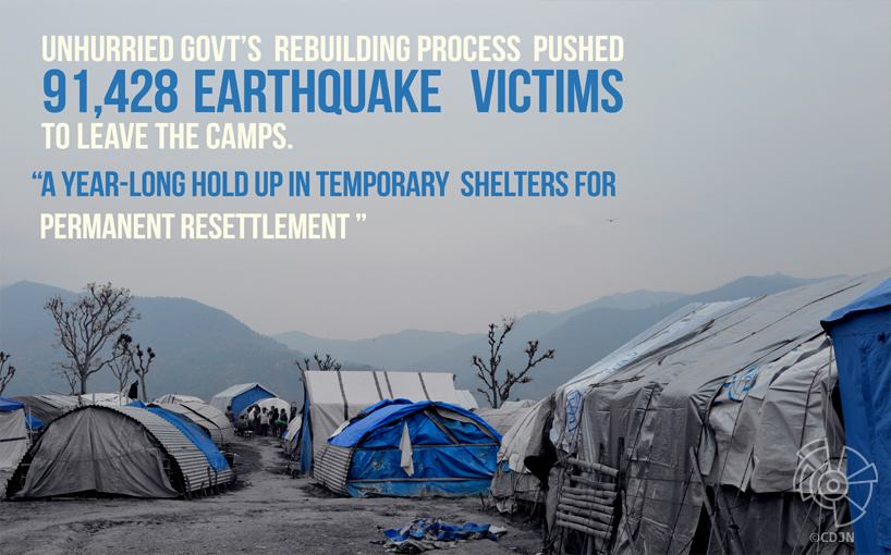 A long due; Government's indifference takes ugly course for quake survivors